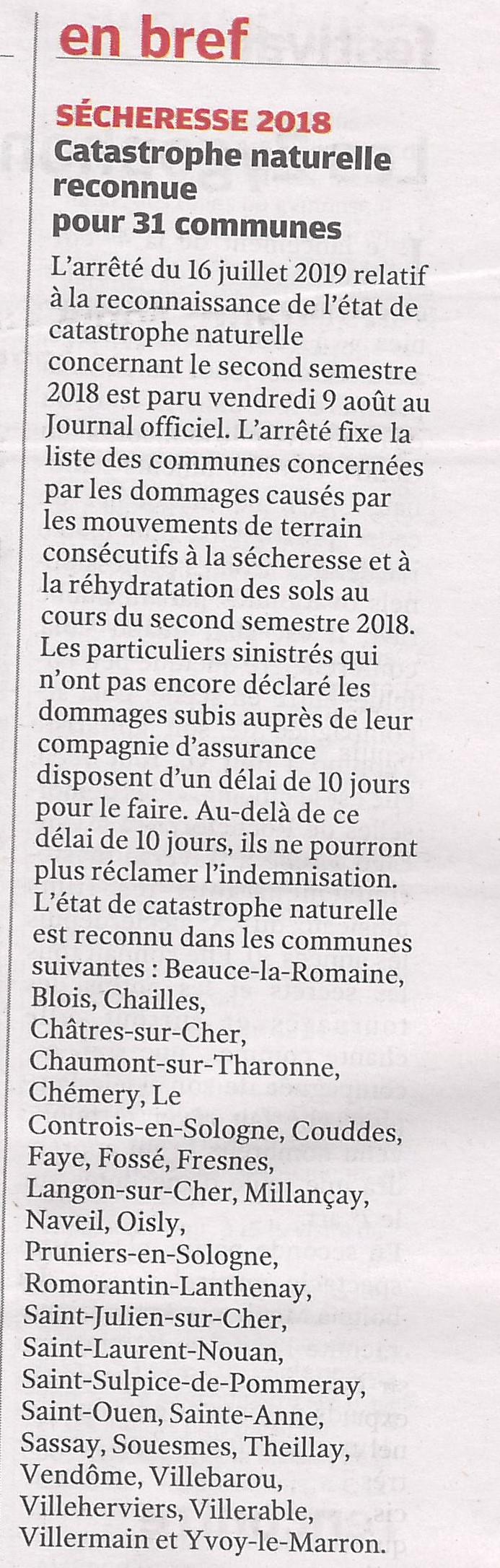 Article NR du 17/08/2019