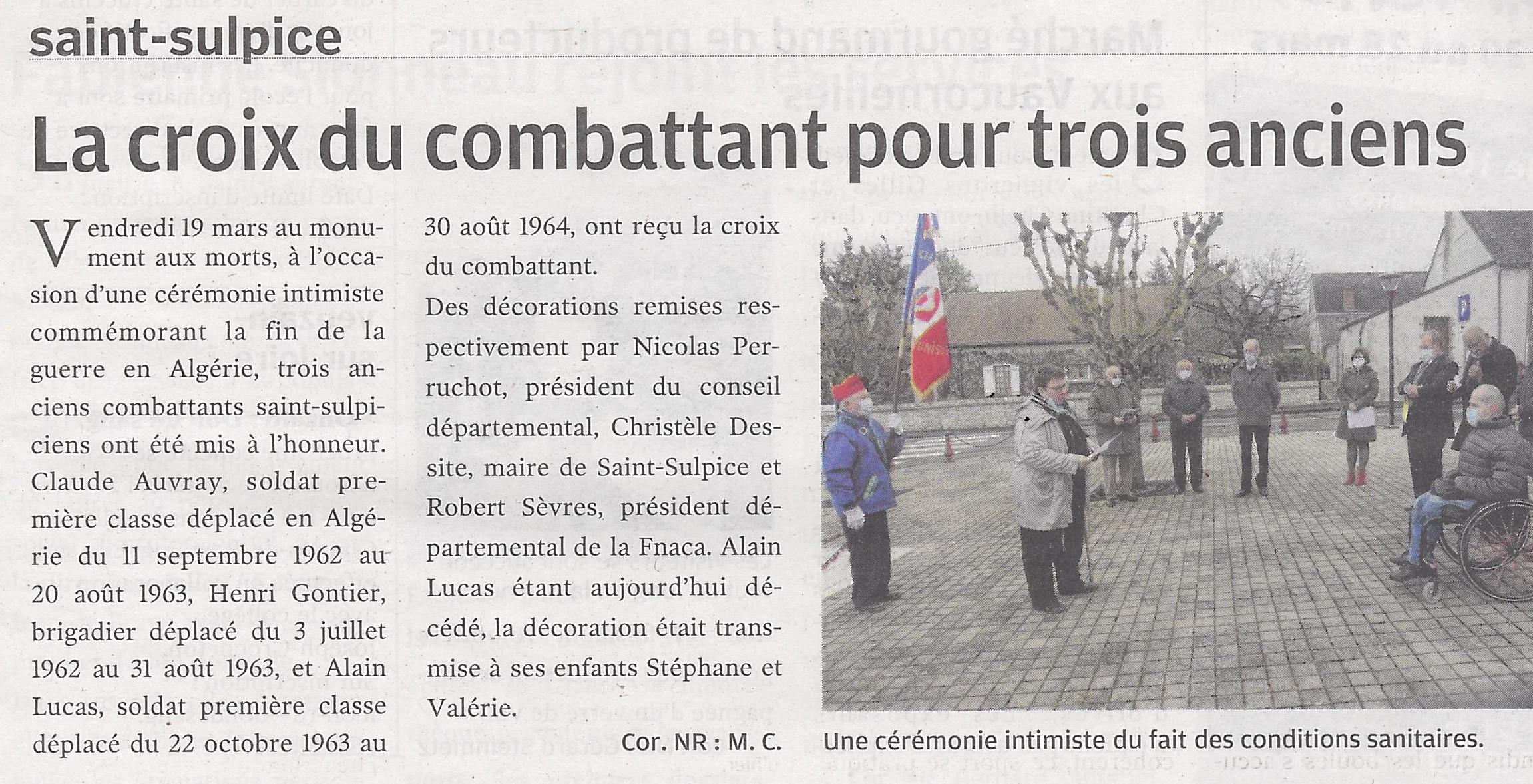 Article NR du 23/03/2021