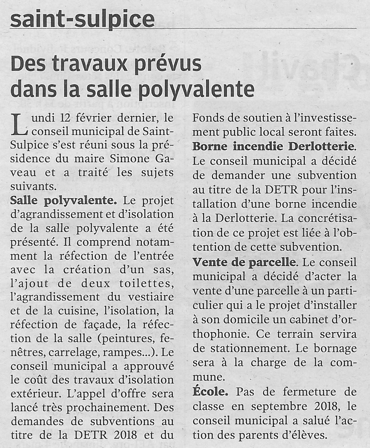 Article NR du 27/02/2018