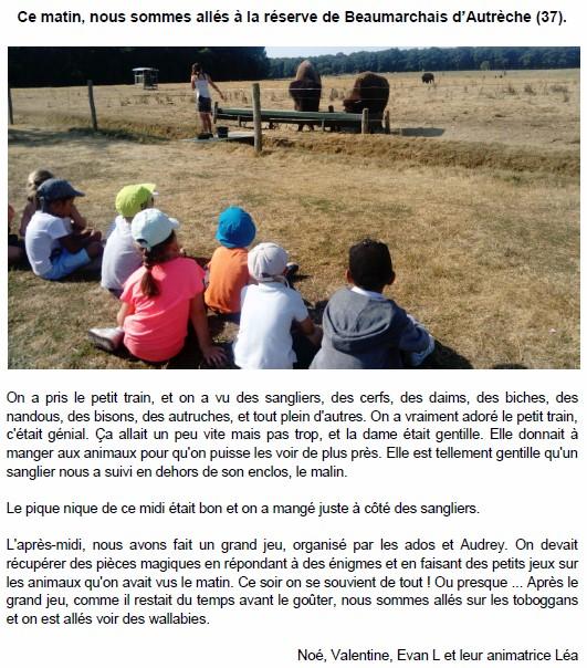Sortie à la réserve de Beaumarchais